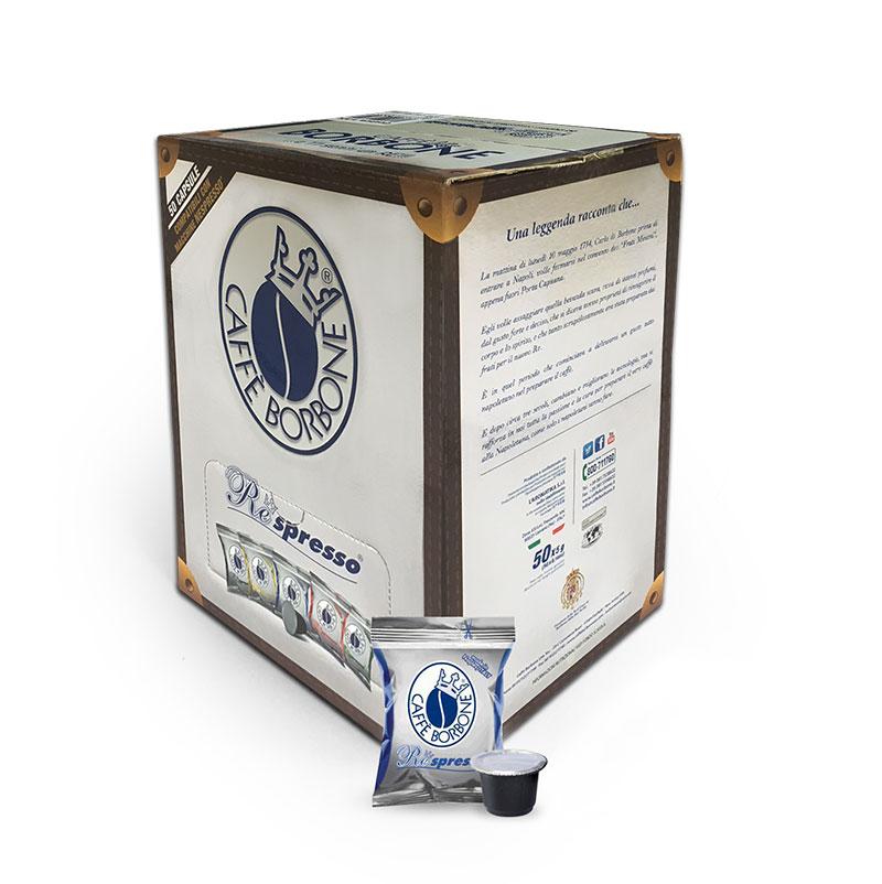 Borbone Miscela Blu (50 capsule compatibili con Nespresso)