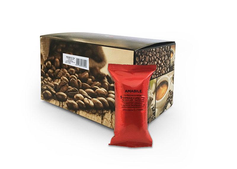 Neutro Amabile (100 capsule compatibili con Nespresso)