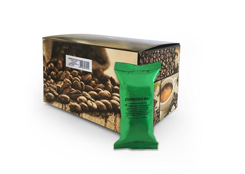 Neutro Espresso Bar (100 capsule compatibili con Nespresso)