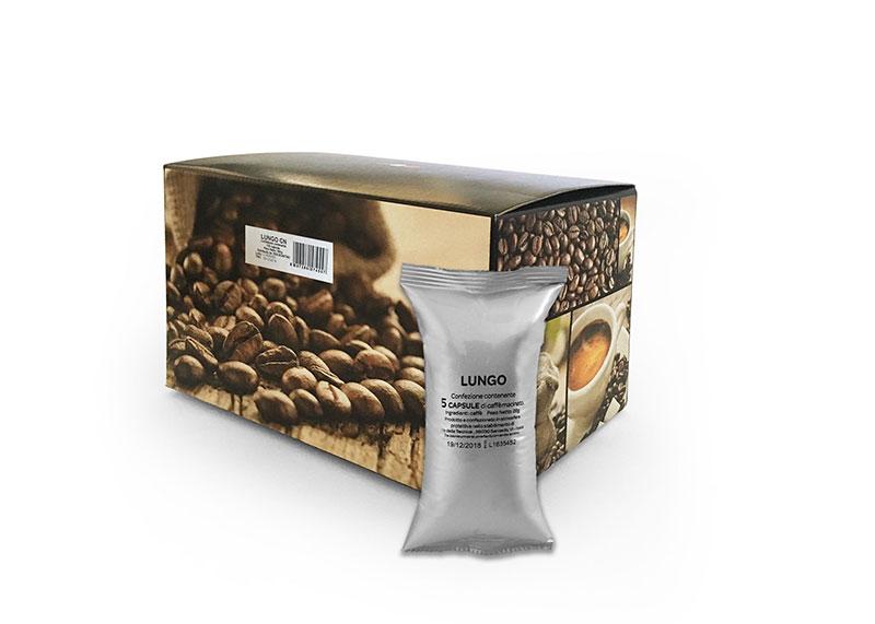 Neutro Lungo (100 capsule compatibili con Nespresso)