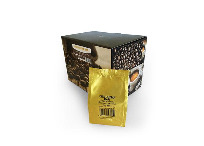 Neutro Oro Crema Bar (100 capsule compatibili con Nespresso)